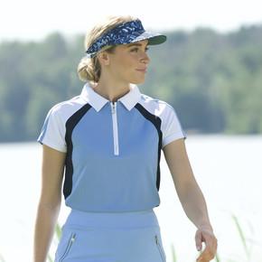 Daily Sports Ladies Roxa Cap Sleeve Polo - Alaska
