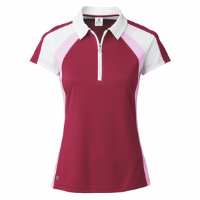Daily Sports Ladies Roxa Cap Sleeve Polo - Plum