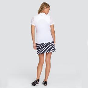 Tail Ladies Golf Pull On Darby Skort 45 CM- Wild Zebra