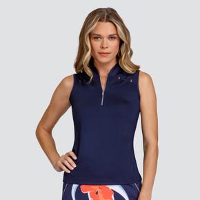 Tail Ladies Golf Diana Sleeveless Polo - Night