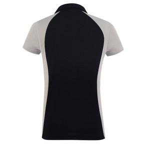 Daily Sports Zenia Cap Sleeve Polo Shirt - Black
