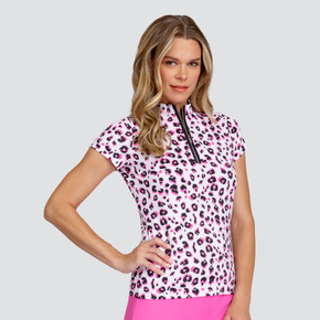 Tail Ladies Golf Michelle Short Sleeve Polo - Pantera