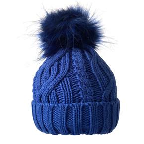 Surprizeshop Waterproof  Golf Bobble Hat - Royal Blue