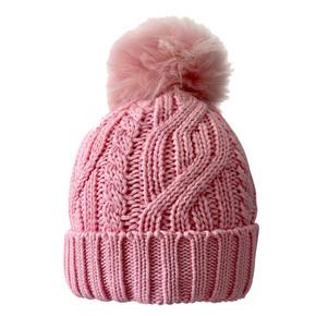 Surprizeshop Waterproof  Golf Bobble Hat - Pastel Pink