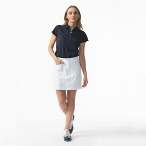 Daily Sports White Lyric Ladies Golf Skort 45 CM - Front lifestyle