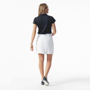 Daily Sports White Lyric Ladies Golf Skort 45 CM - Rear lifestyle