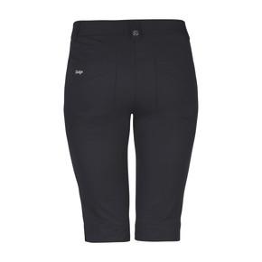Daily Sports Knee Lengh Lyric City Golf Shorts 62 CM Black - Rear