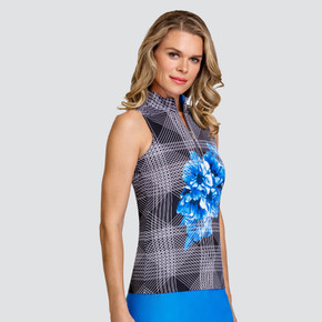 Tail Ladies Golf Fannie Sleeveless Polo - Inforescence