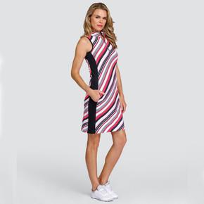 Tail Ladies Golf Danville Sleeveless Dress - Raya Wave
