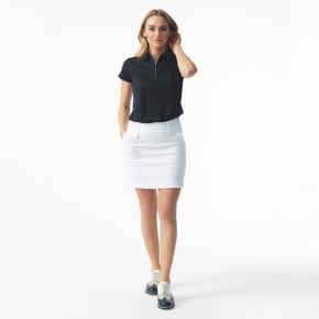 Daily Sports Magic White Skort Ladies Golf 45 CM - Front Lifestyle