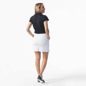 Daily Sports Magic White Skort Ladies Golf 45 CM - Rear Lifestyle