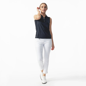 Daily Sports Magic White Ankle Trouser Ladies Golf 94 CM - Front Lifestyle