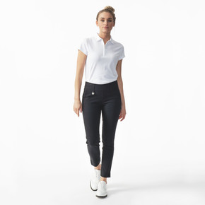 Daily Sports Magic Black Ankle Trouser Ladies Golf 94 CM - Front Lifestyle