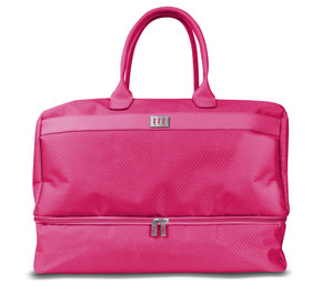 Lady Golfer Honeycomb Design Golf Holdall- Pink