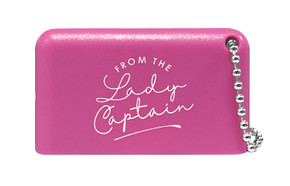 From The Lady Captain 3 in 1 Golf Club Cleaner -Pink