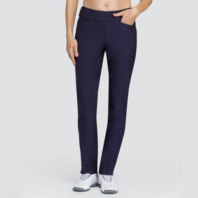Tail Ladies Golf Mulligan Pull On 31 Inch Trousers - Navy