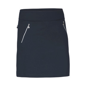 Daily Sports Madge Navy Blue Ladies Golf Skort 45 CM - Front