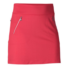 Daily Sports Madge Sangaria Red Ladies Golf Skort 45 CM - Front