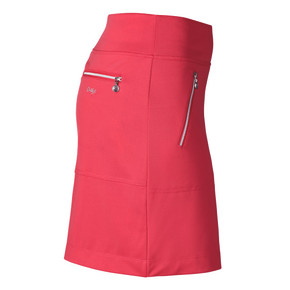 Daily Sports Madge Sangaria Red Ladies Golf Skort 45 CM - Side