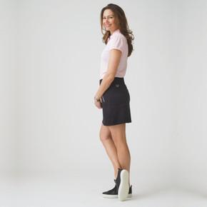 Daily Sports Madge Black Ladies Golf Skort 45 CM - Side Lifestyle