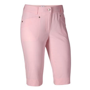 Daily Sports Knee Lengh Lyric City Golf Shorts 62 CM Pink - Front
