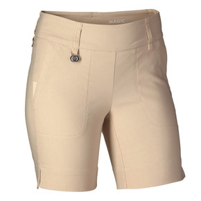 Daily Sports Magic Beige Shorts Ladies Golf 44 CM - Front
