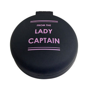 From the Lady Captain Mirror & Hair Brush