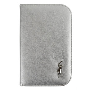 Ladies Silver Golf Scorecard Holder