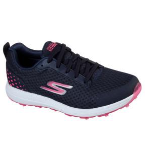 Skechers Ladies Go Golf Fairway 2 Lightweight Golf Shoes- Navy and Pink