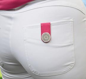Hot Pink Golf Ball Marker Anywear Set
