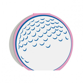 Golf ball  Place setting cards - pack of 10