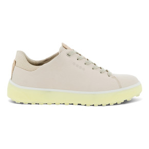 Ecco Ladies Golf Tray Golf Shoes- Limestone