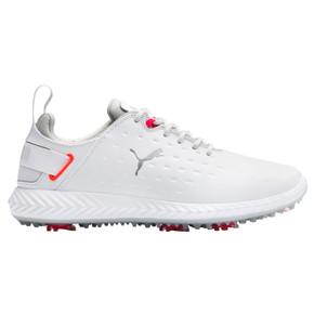Puma Ladies Ignite Blaze Pro Waterproof Golf Shoes- White and Pink