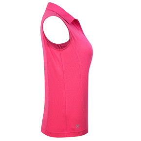 Daily Sports Macy Polo Shirt Fruit Punch Pink - Side