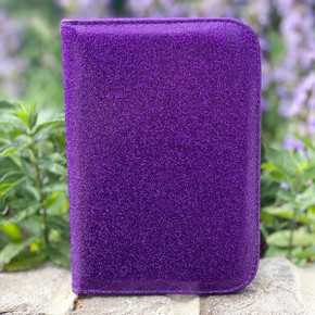 Purple Glitter Scorecard Holder