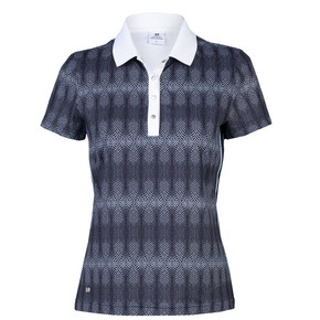 Daily Sports Milou Short Sleeve Polo Shirt- Navy