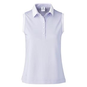 Daily Sports Milia Sleeveless Polo Shirt - Lilac Salvia