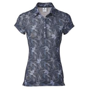 Daily Sports Luisa Sheer Mesh Cap Sleeve Polo Shirt