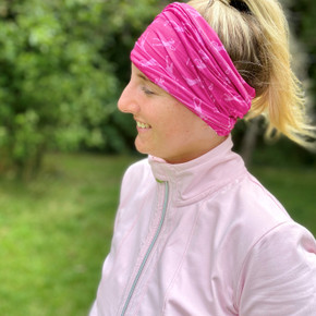 Lightweight Women's Golf Snood Lady Golfer Design - Pink