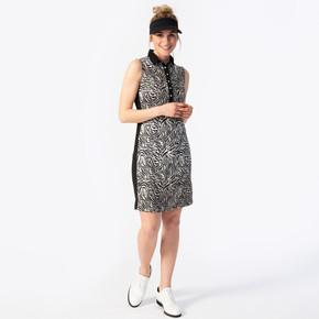 Daily Sports Tiana Sleeveless Dress- Beige Zebra