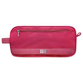 Lady Golfer Honeycomb Design Golf Shoe Bag- Pink