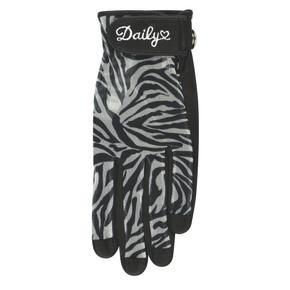 Daily Sports Ladies Kiara Left Hand Sun Glove - Zebra