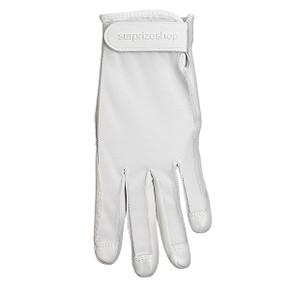 All Weather Ladies Golf Mesh Sun Glove- White