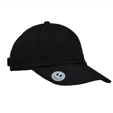 Ladies Golf Magnetic Soft Fabric Cap-Black