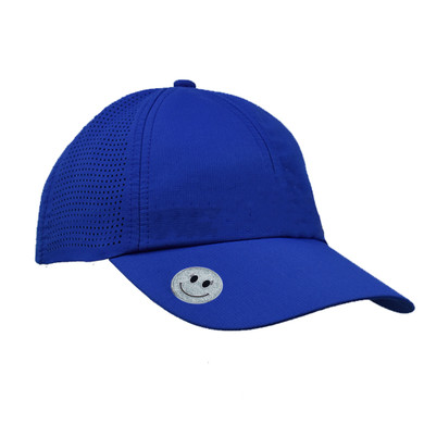 Ladies Golf Magnetic Soft Fabric Cap -Blue