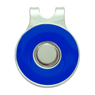 Ladies Golf Round Visor Clip- Blue