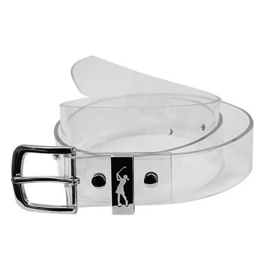 Ladies Clear Golf Belt