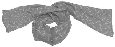 Lady Golfer Golf Towel / Golf Cool Scarf -Grey