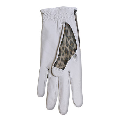 Luxury Cabretta Leather Sun Glove- Leopard