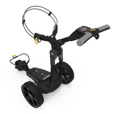 PowaKaddy FX3 18 Hole Lithium Electric Trolley 2021 - Black